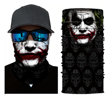 FACE MASK BANDANA JOKER