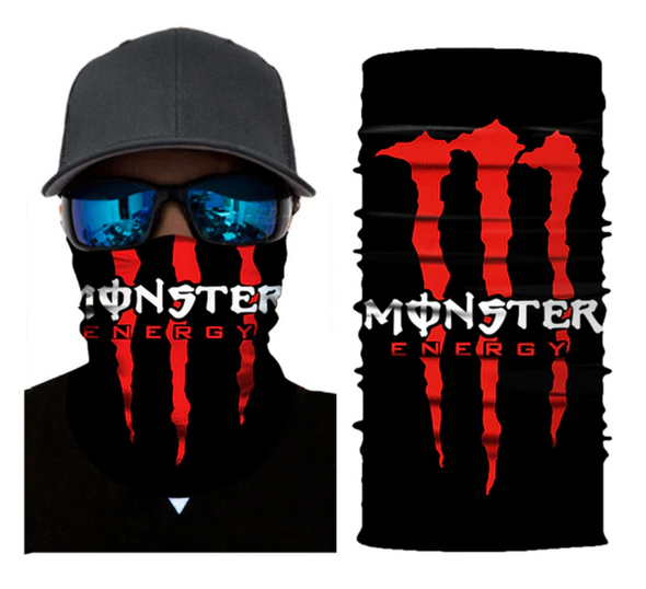 FACE MASK BANDANA MONSTER ENERGY