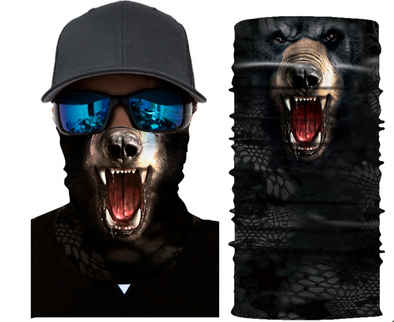 GRIZZLY FACEMASK BANDANA