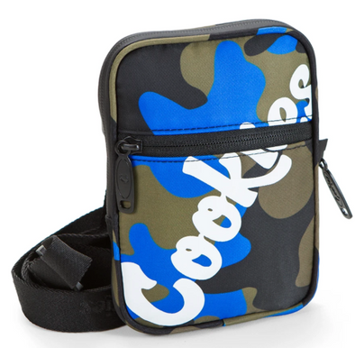 Original Logo Honeycomb Utility Bag Blue Camo
