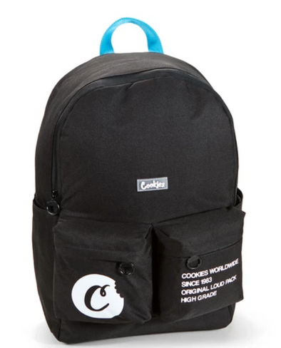 Orion Canvas Smell Proof Backpack black