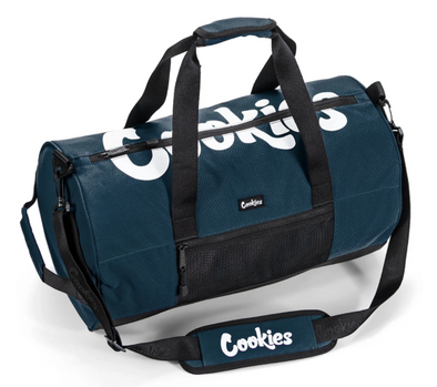 COOKIES Summit Ripstop Smell Proof Duffle Bag Navy