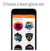 ELite Spectra Bluetooth Glove Set Emazing Lights