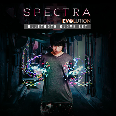 SPECTRA EVOLUTION GLOVE SET EMAZING LIGHTS