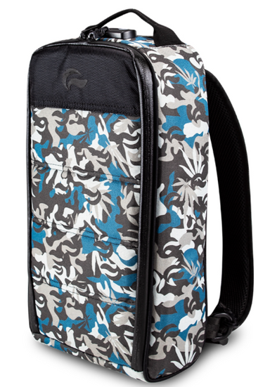 SKUNK RIG PACK-CAMO BLUE  SMELL-PROOF BACK-PACK