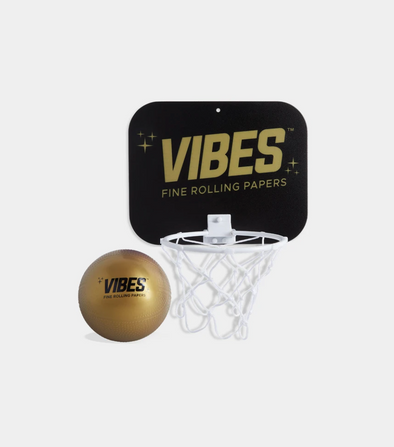 VIBES MINI BASKETBALL & HOOP - Assorted