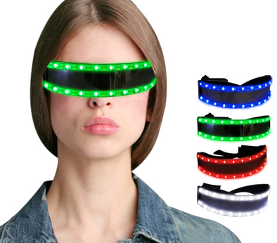 Glow Glasses LED Sun Glasses Party Glow Light Up Glass