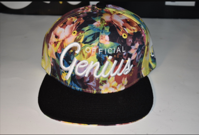 Official Genius Yellow Flower snapback hat