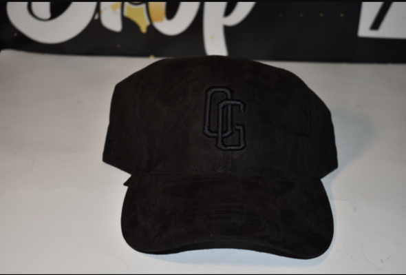 OG Black Suede Hat