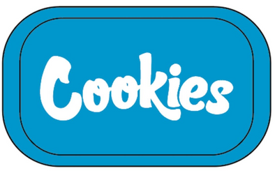 COOKIES METAL TRAY -BLUE