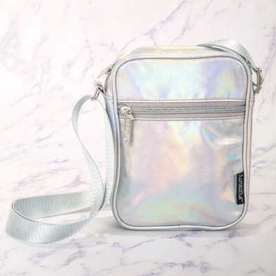FYDELITY Sidekick Brick Bag Metallic LASER Silver