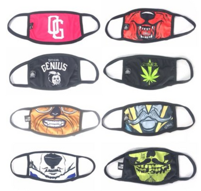 OFFICIAL GENIUS MASKS