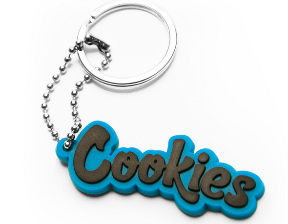COOKIES ORIGINAL MINT KEYCHAIN - BLUE
