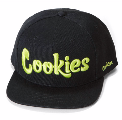 COOKIES THIN MINT TWILL SNAPBACK - BLACK/YELLOW