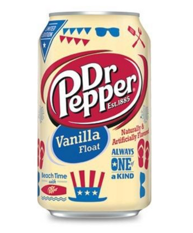 DR PEPPER VANILLA FLOAT - EXOTIC POP