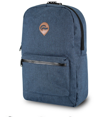 SKUNK ELEMENT BACKPACK-SMELL PROOF- WITH LOCK- DENIM NAVY
