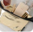 FYDELITY- Ultra-Slim Fanny Pack METALLIC Gold