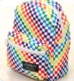 FYDELITY- Mini Backpack PRIDE INDY Check Rainbow