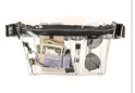 FYDELITY- XL Ultra-Slim Fanny Pack CRYSTAL Clear