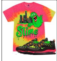 SLIME FLOURESCENT PLANET OF THE GRAPES T-SHIRT