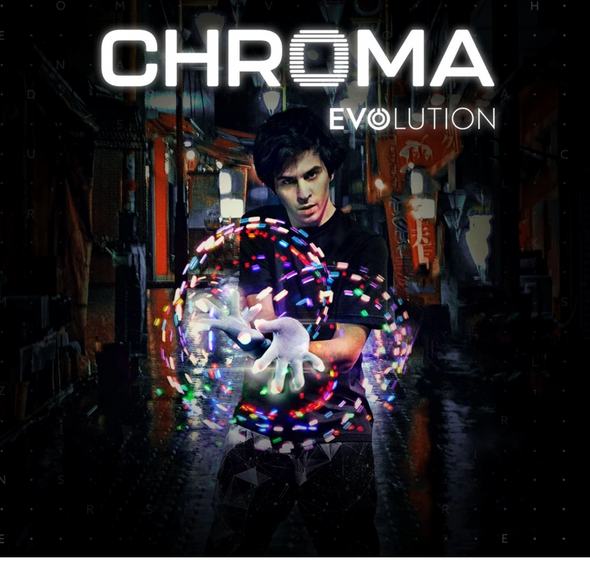 CHROMA EVOLUTION GLOVE SET EMAZING LIGHTS