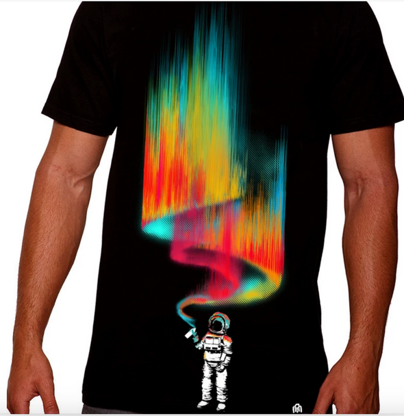 Space Vandal Tee - S / Black