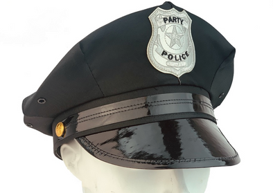 Party Police Costume Hat