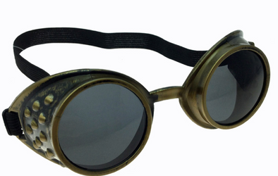 Steampunk Gold Goggle