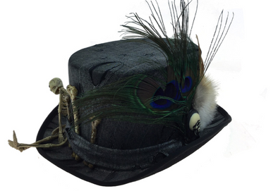 Feather Bone Hat
