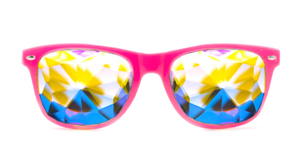 ULTIMATE KALEIDESCOPE GLASSES-PINK