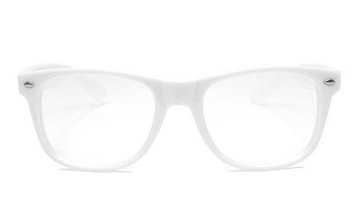 GloFX Ultimate Diffraction Glasses - White