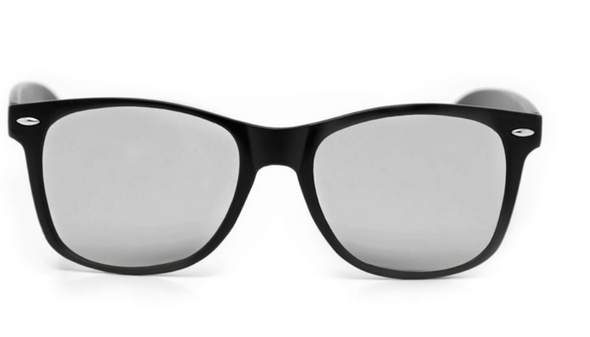 GloFX Diffraction Glasses - Matte Black - Mirror