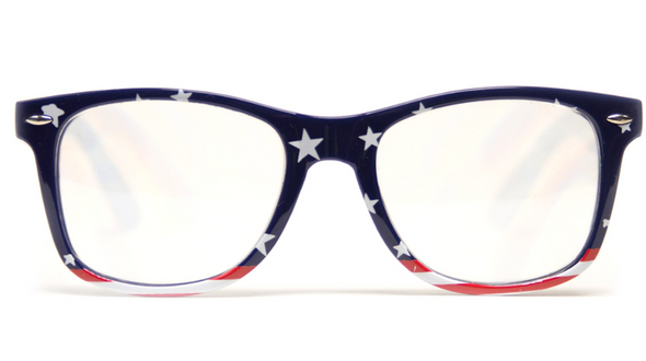GloFX American Flag Diffraction Glasses