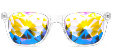 GloFX Ultimate Kaleidoscope Glasses  -Clear
