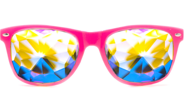GloFX Ultimate Kaleidoscope Glasses - Pink