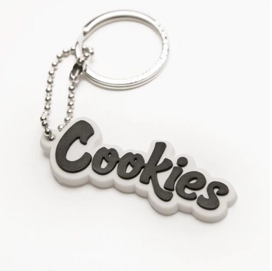 COOKIES ORIGINAL MINT KEYCHAIN WHITE