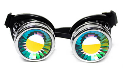 GloFx Chrome Kaleidoscope Goggles