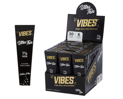 Vibes Cones Ultra Thin 1 1/4