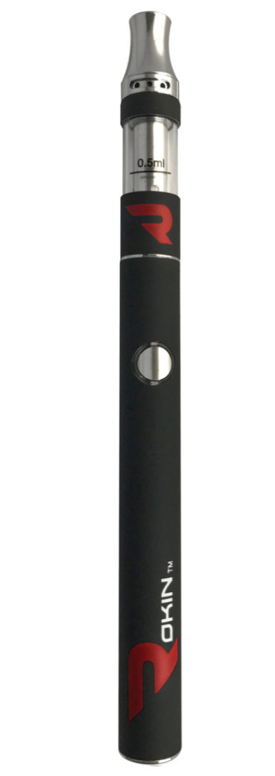 Rokin Thunder Pen Oil Kit - Matte Black