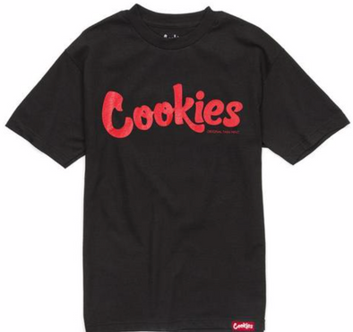 COOKIES THIN MINT TEE - BLK/RED