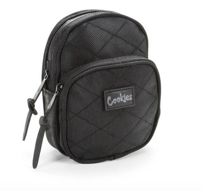 Cookies Mini Quilted Smell Proof Pack Black