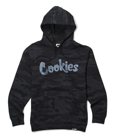 COOKIES THIN MINT HOODIE - BLK CAMO/CHAR