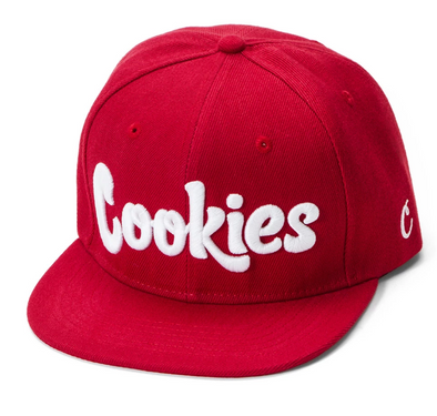 COOKIES THIN MINT TWILL SNAPBACK CAP - RED/WHITE