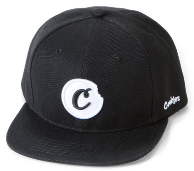 COOKIES C-BITE SNAPBACK - BLACK/WHITE