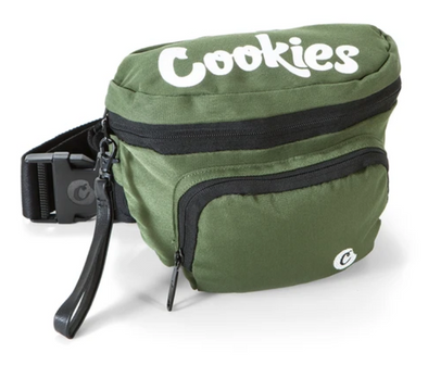 "COOKIES ""ENVIRONMENTAL"" FANNY PACK - OLIVE"