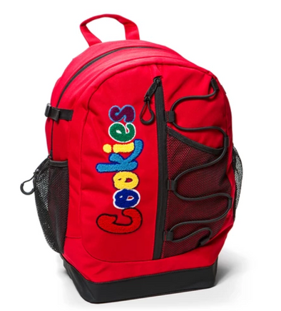 "COOKIES ""THE BUNGEE"" BACKPACK - RED"