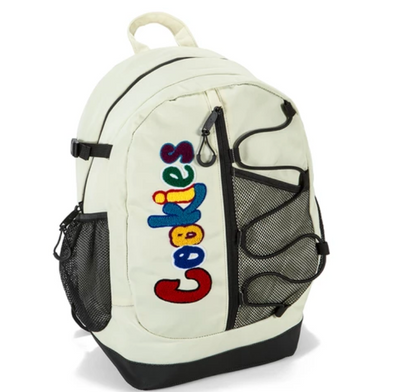 "COOKIES ""THE BUNGEE"" BACKPACK - WHITE"