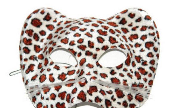 Leopard party mask