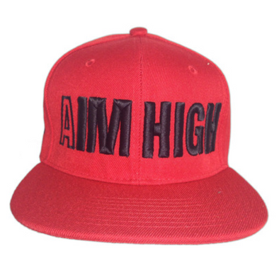 Official Genius Red Aim High Snapback