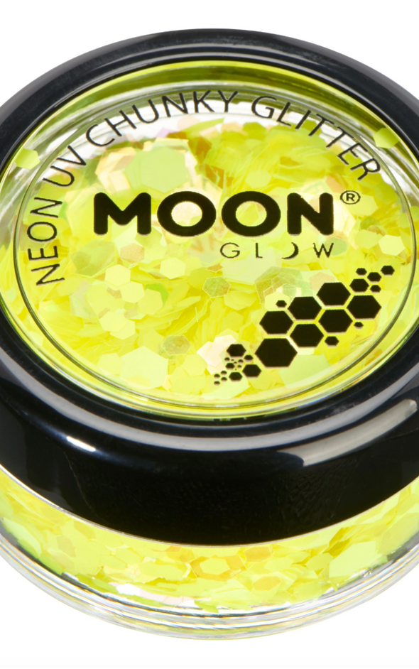 Moon Radio Active UV Body & Face Glitter (Available in 3 colors)